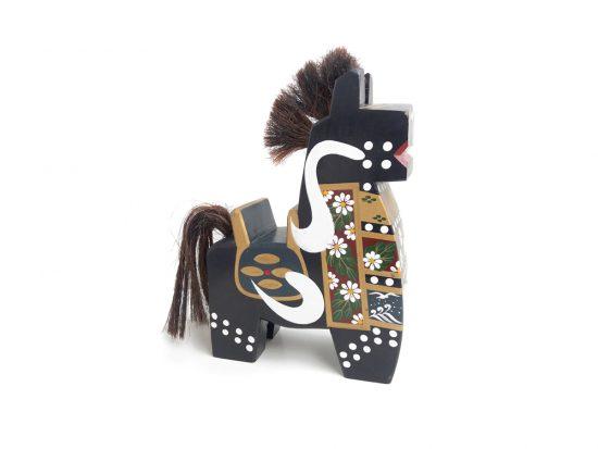 Yahata - uma Japanese horse figurine large