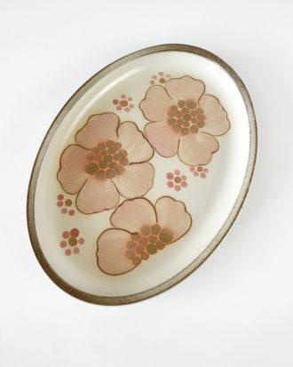 oval stoneware Denby Gypsy platter