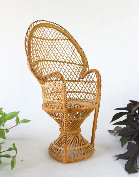 small peacock chair
