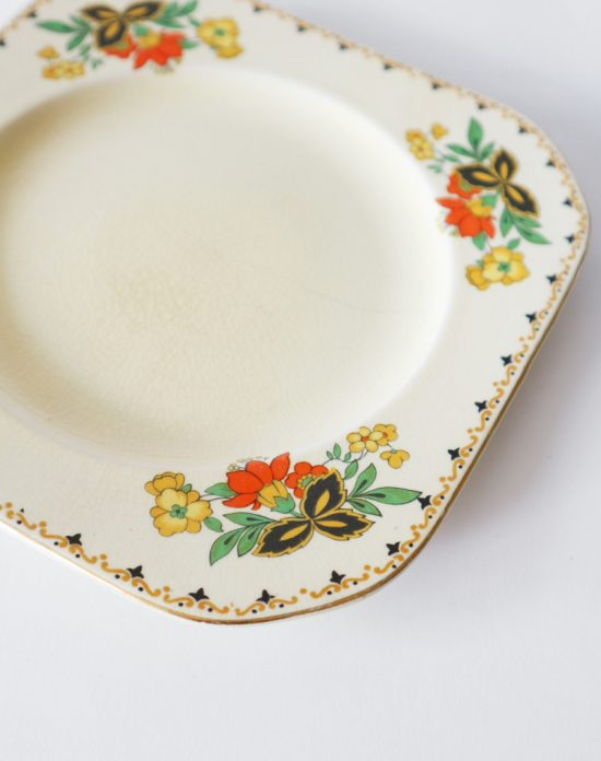 Art Deco plate by Wods Ivory Ware