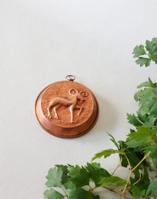 Vintage rustic copper mold