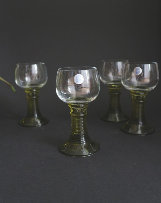 vintage german wine glasses