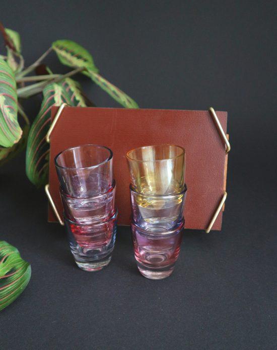 60s shot glasses
