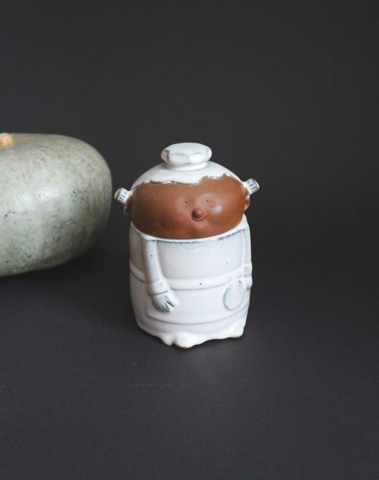 anthropomorphic kitchen jar