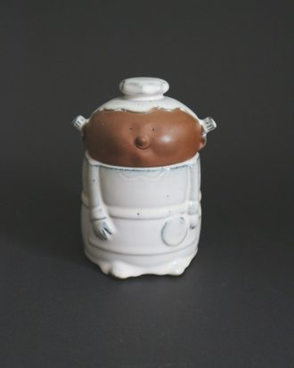 anthropomorphic kitchen jar