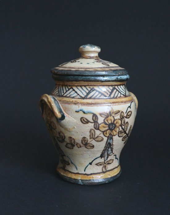 traditional Portuguese pottery jar