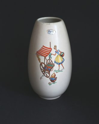 West German vase by Jasba