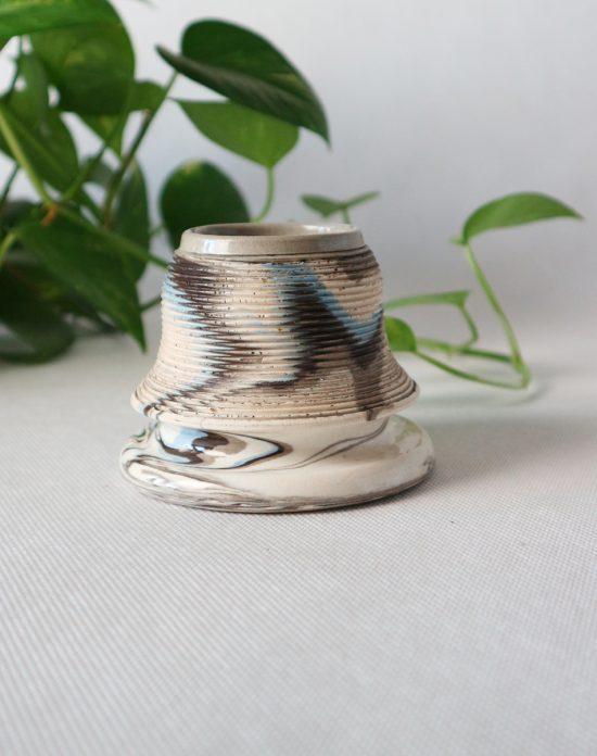 Antique ceramic match striker