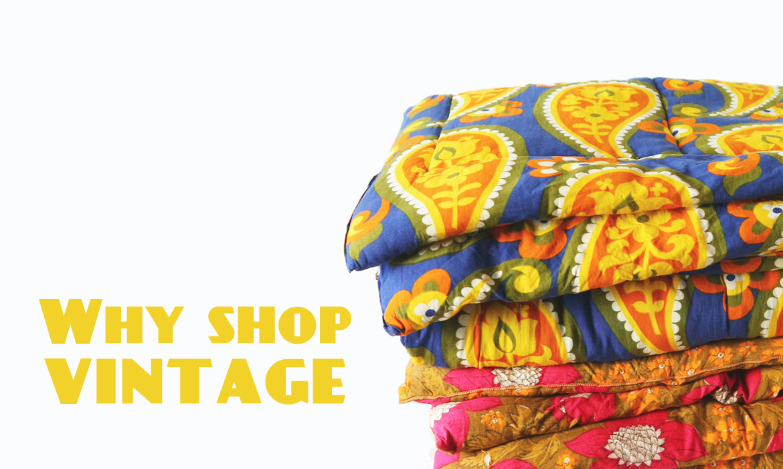 why shop vintage