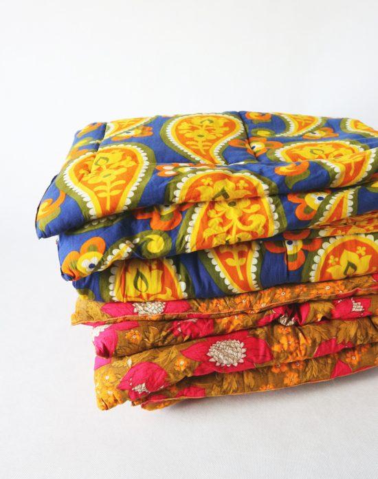 vintage comforter, eiderdown