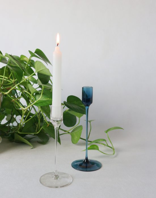wedgwood glass candle holder