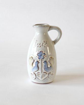 vintage rustic vinegar jug