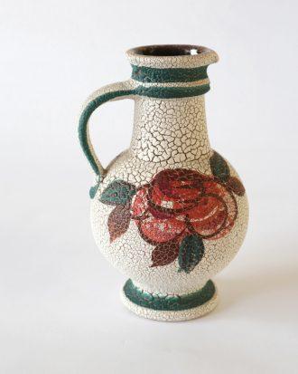 Ü Keramik rose vase