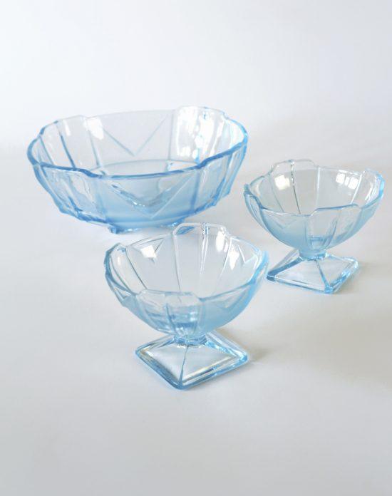 Sowerby Chevron glass