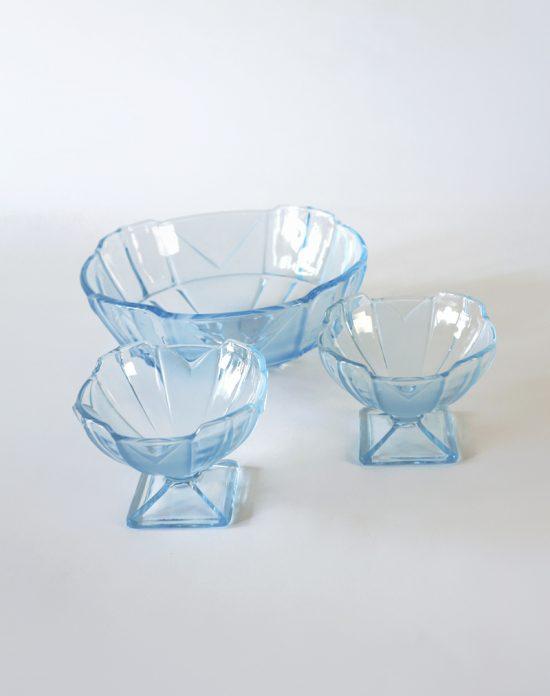 Art Deco Sowerby glass