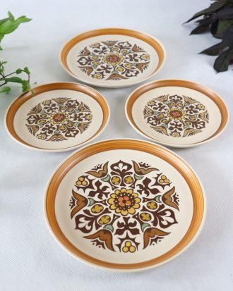 Denby Langley Canterbury plates
